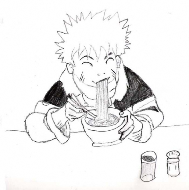 Naruto Eating