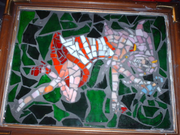 Anemone Glass Mosaic