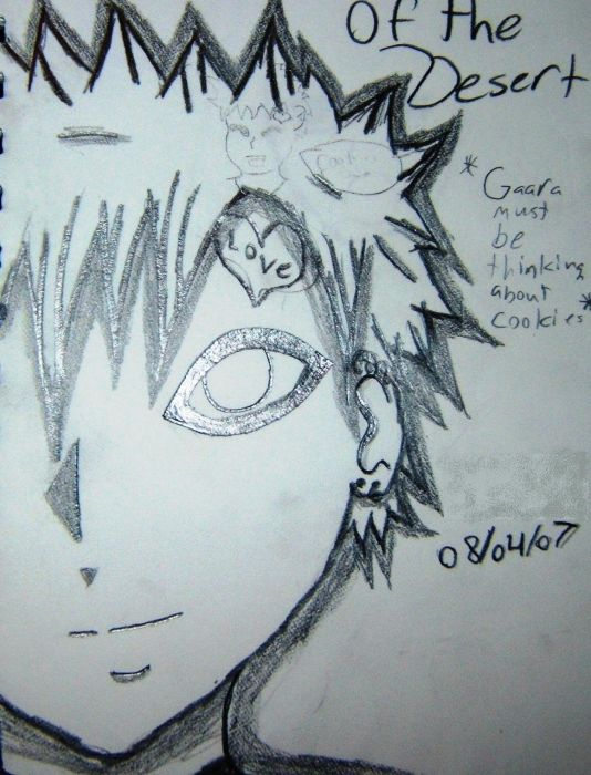 Gaara Of The Desert #1