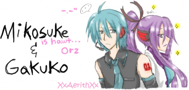 Gender-Bender Miku & Gakupo