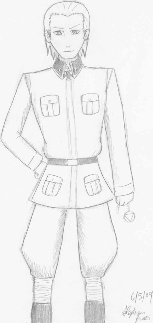 Hidan in Uniform
