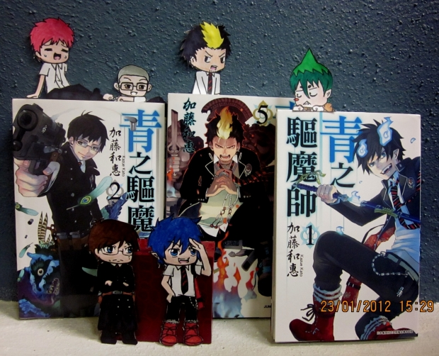 Ao No Exorcist Paperchildren