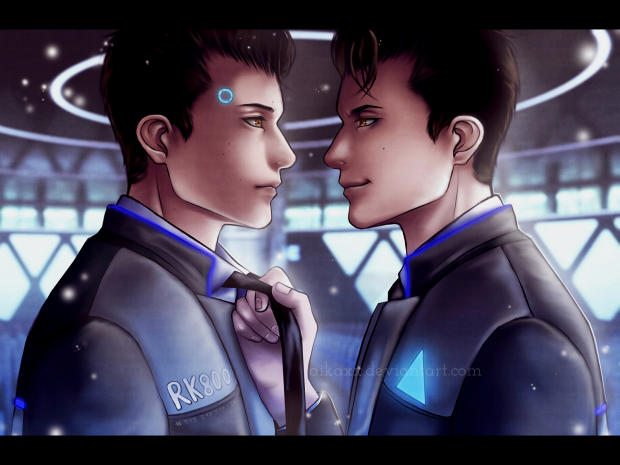 Machine Connor X Deviant Connor