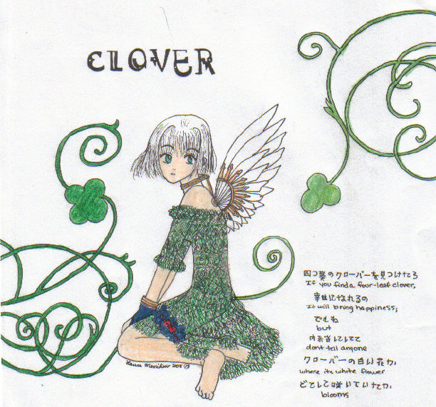 Old Clover Drawing