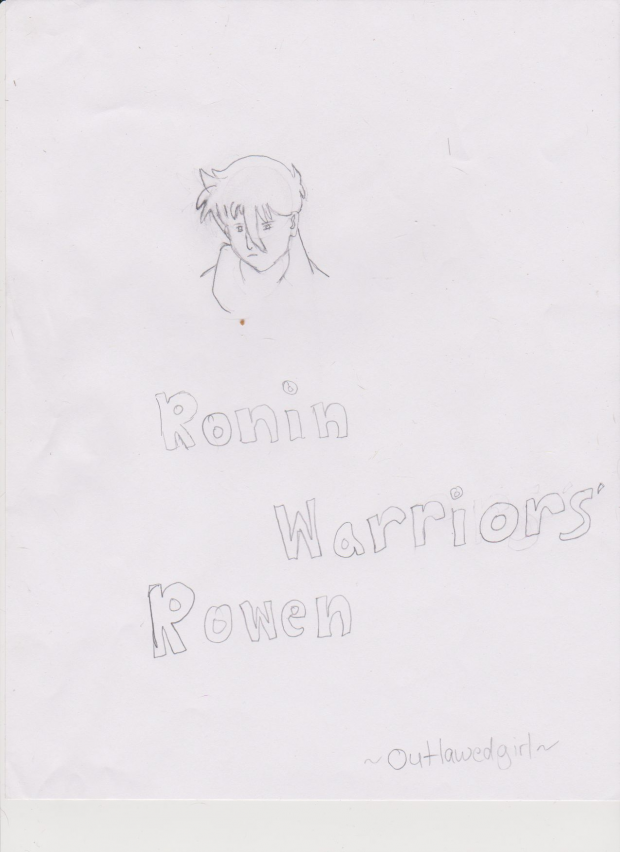 Rowen from Ronin Warriors