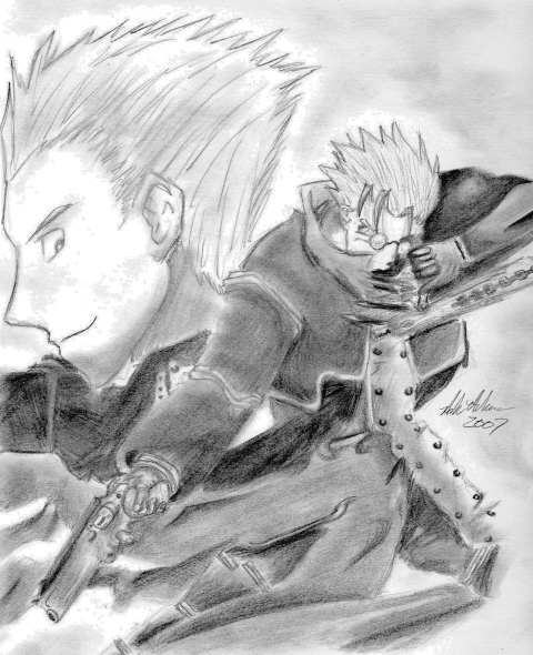 Vash And Knives