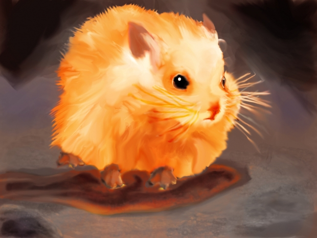 Volcano Hamster Colored