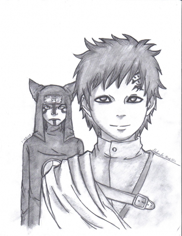 Kankuro And Gaara