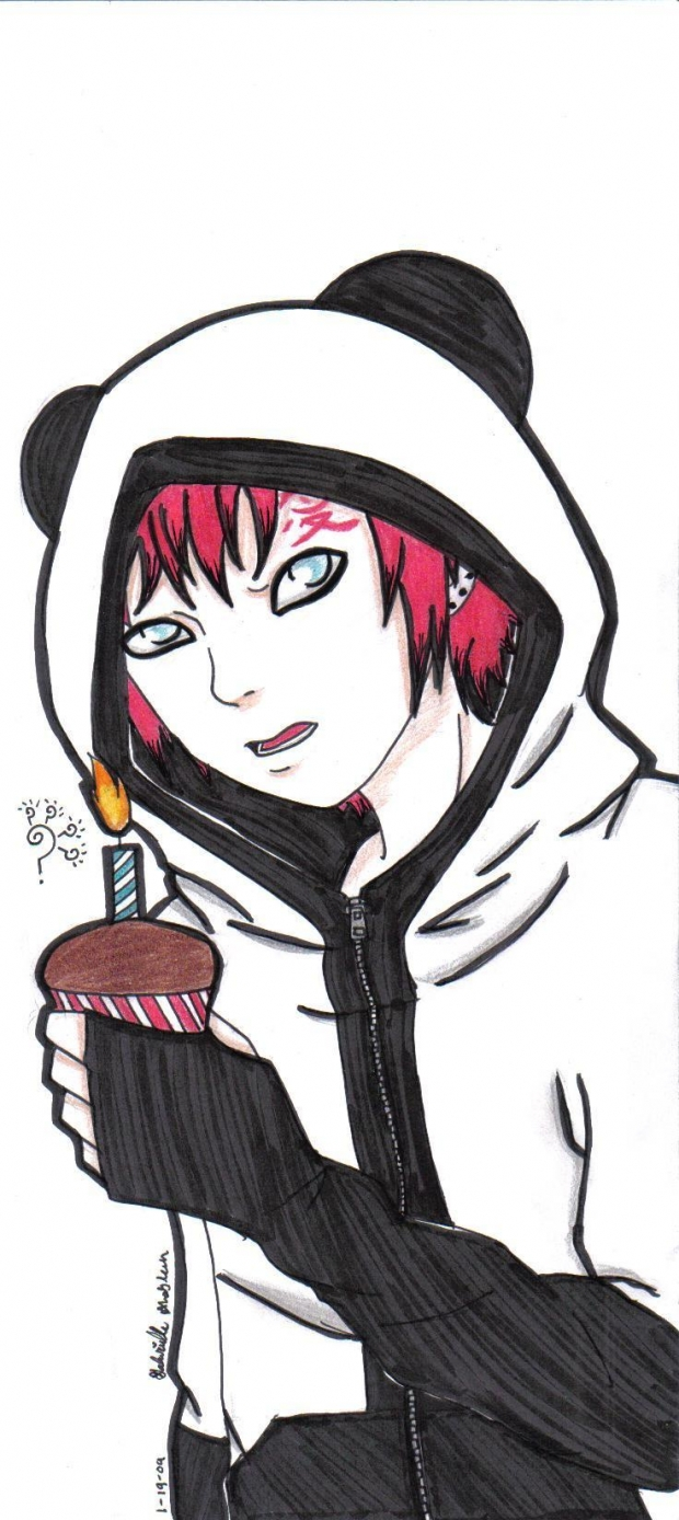 Happy B-Day Gaara