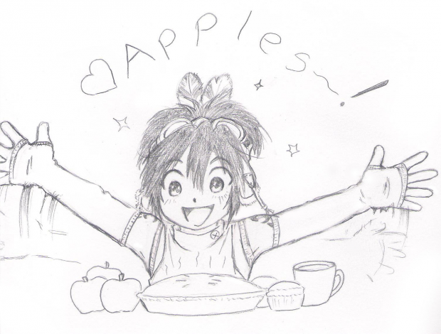 Apples = Happiness