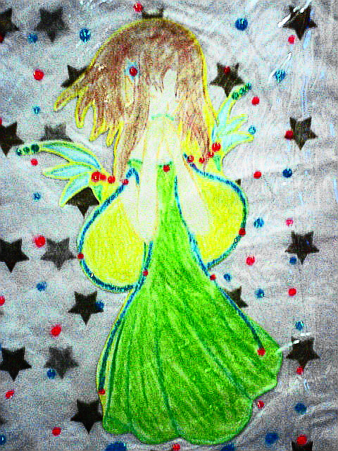 fairy in my scrapbook