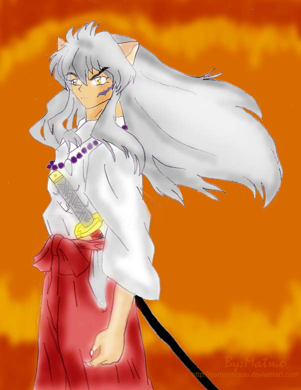 InuYasha, The Hero