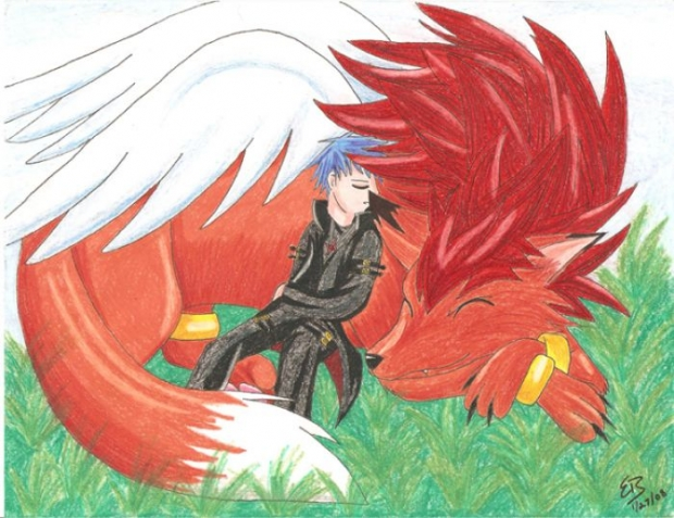 Chibi And Eagle - Serenity