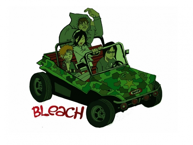 Bleach Gorillaz Mash-Up
