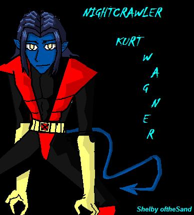 Nightcralwer From X-men Evolution