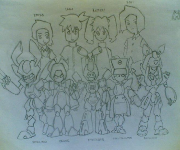 Medabots (cast Of Characters)
