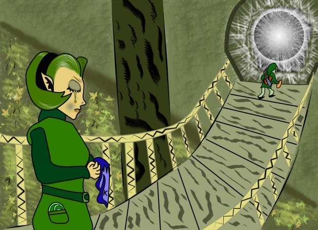 Saria: SHE WILL ALWAYS BE...YOUR FRIEND...