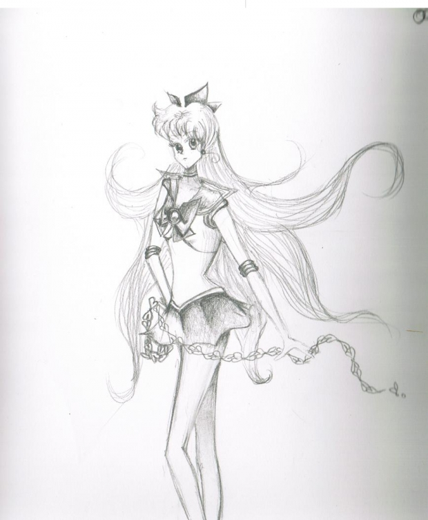 Sailor Venus in an hour [no, seriously.]