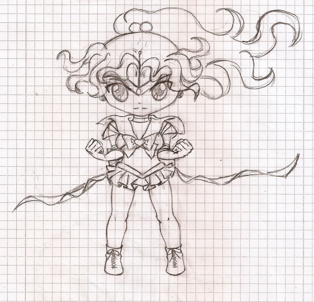 Sketch Chibi Sailor Jupiter