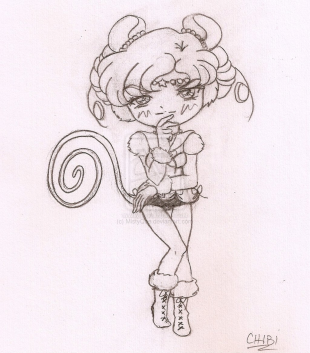 Chibi Sailor Iron Mouse