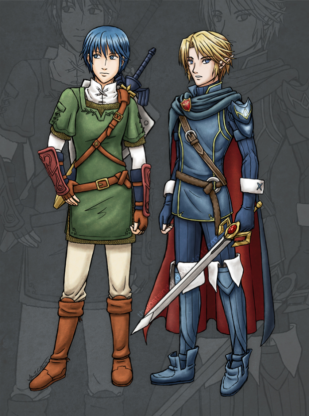 Outfit Swap! Marth & Link