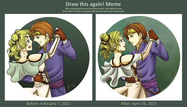 Draw this again: Dance with Me
