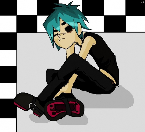 2D from Gorillaz
