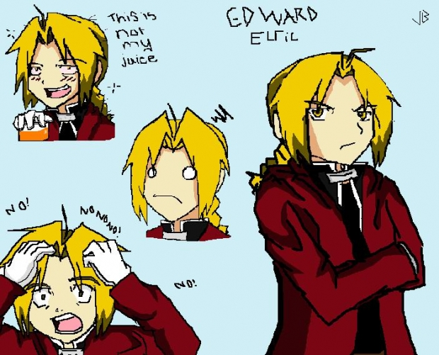 Random Faces of Edward