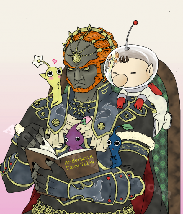 Storytelling with Ganon