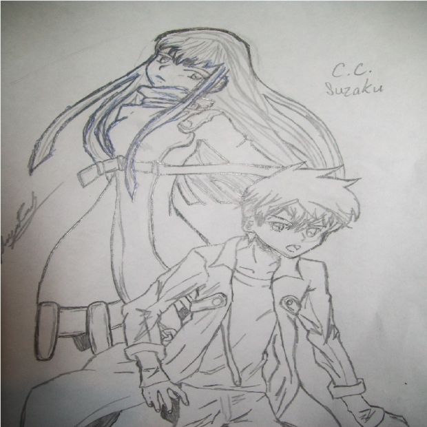 C.C. and Suzaku