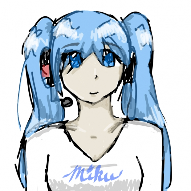 Quick Miku sketch