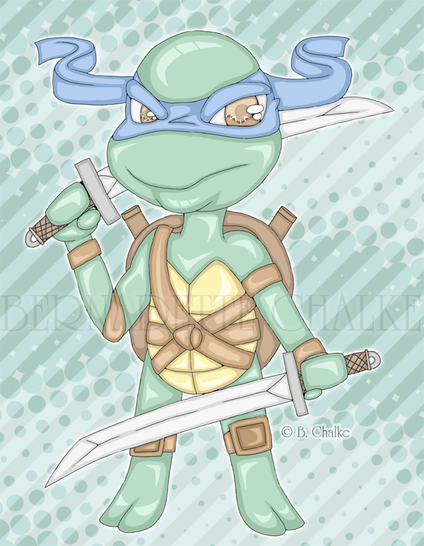 Leonardo Chibi Commission