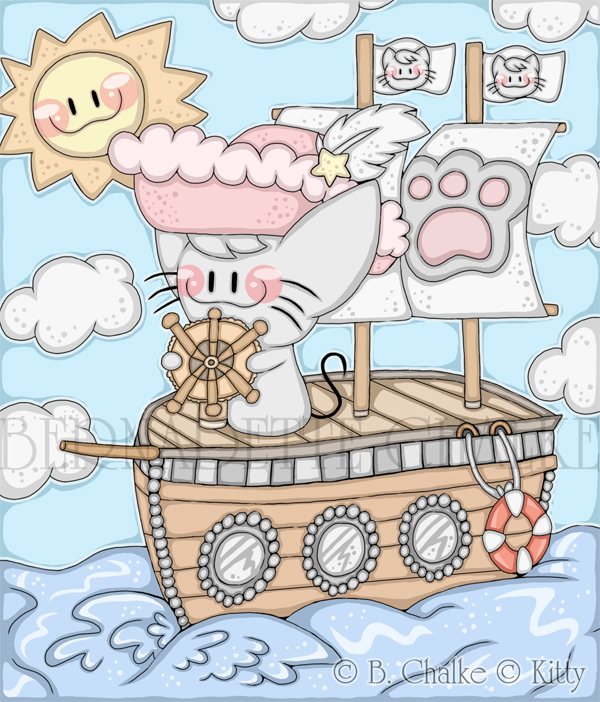 Kitty Sets Sail to Adventure