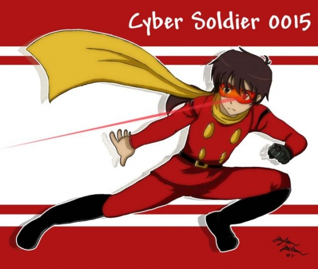 Cyber Soldier 0015