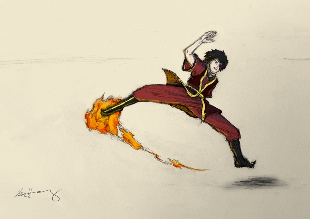 Zuko, about to rip someone a new one
