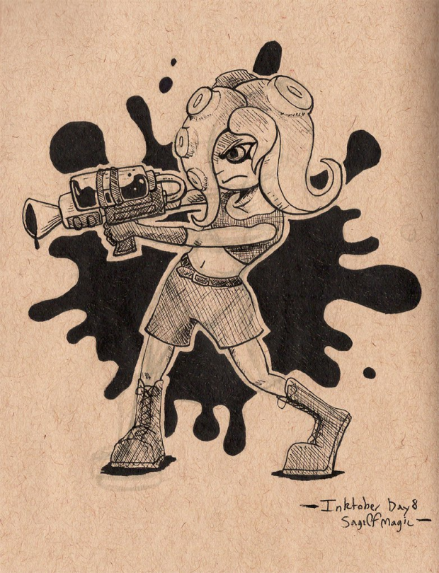 Kid or...Octoling