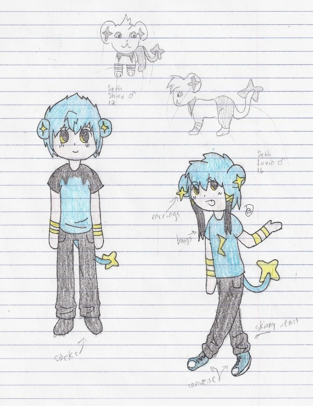 Seth the Shinx/Luxio