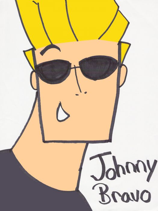 Johnny Bravo (colored)