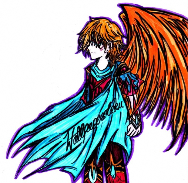 Fai grew wings back XD