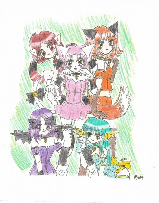 Made-up Mew Mew Group