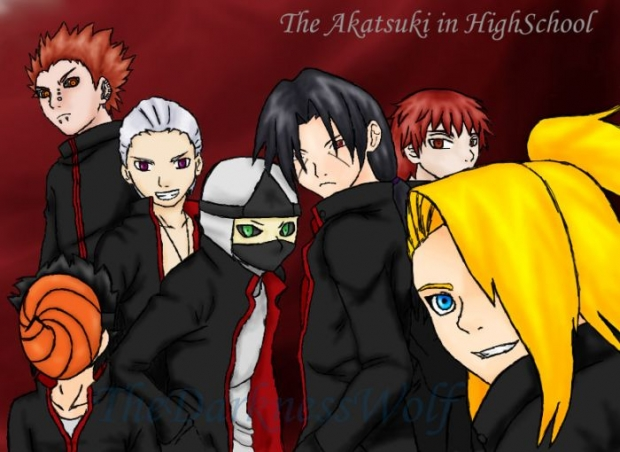 The Akatsuki In High School