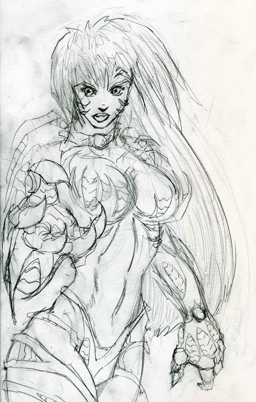 witchblade preview