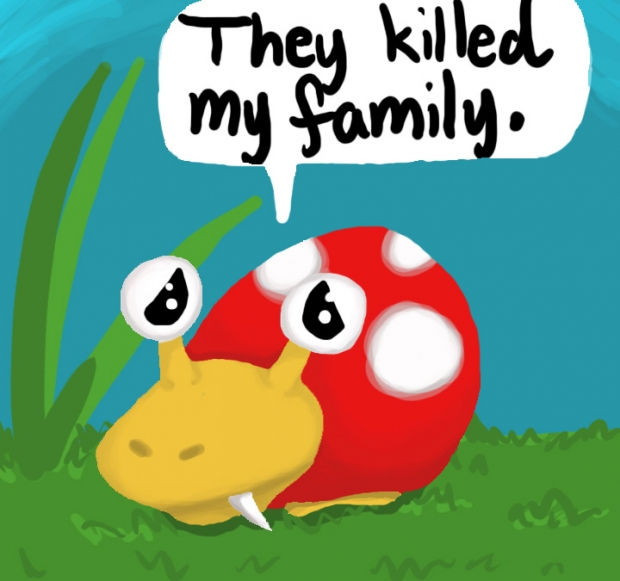 They killed my family