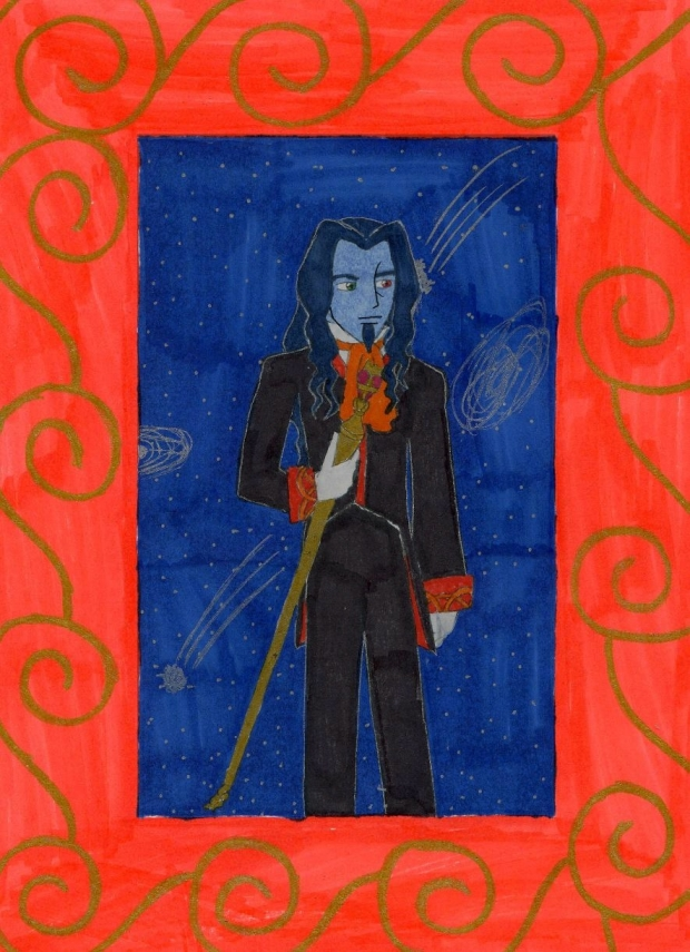 The Count's portrait