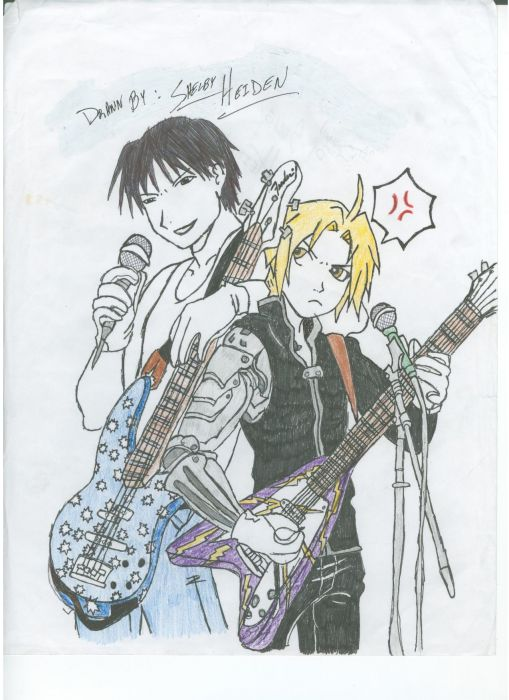Edvard And Mustang In A Band!