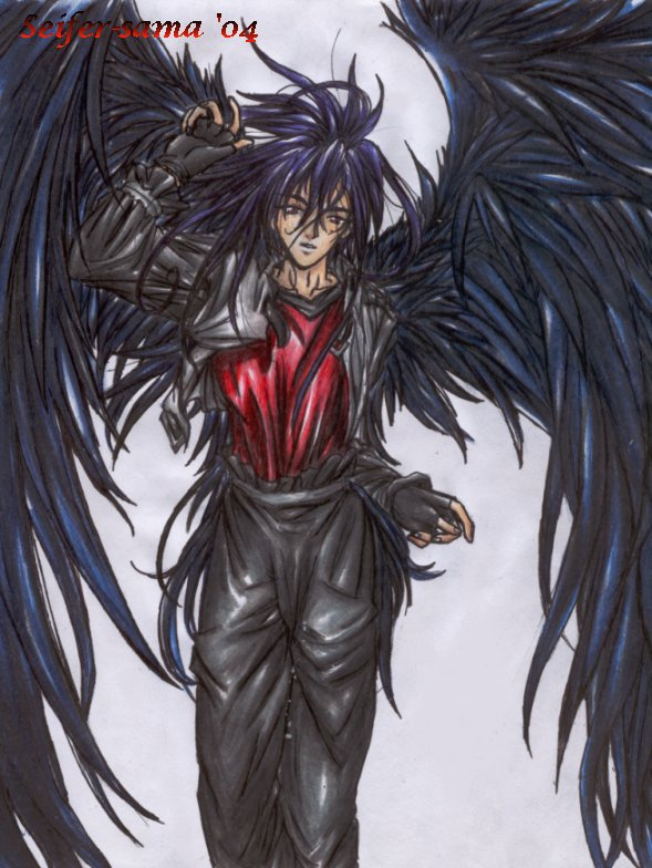 Dark Wing Angel
