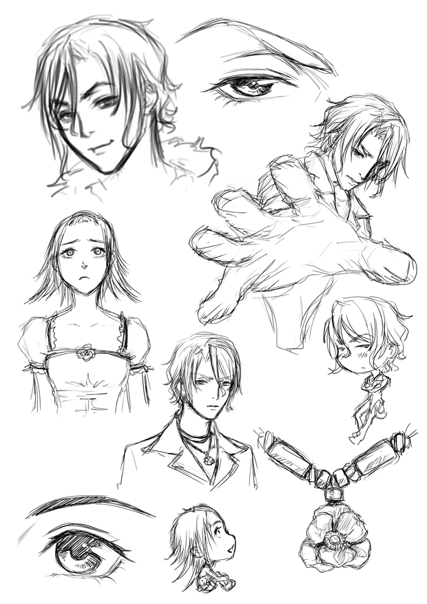 Random sketchy stuffs