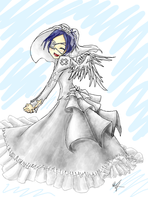 Angel's Wedding Dress