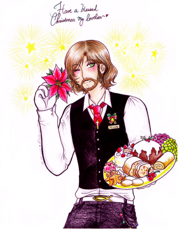 Merry Christmas from bishie Jesus