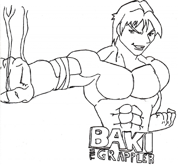 Baki does sonic fist